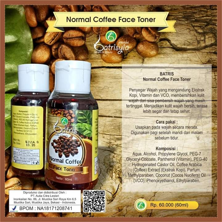 Batrisyia Normal Coffee Face Toner
