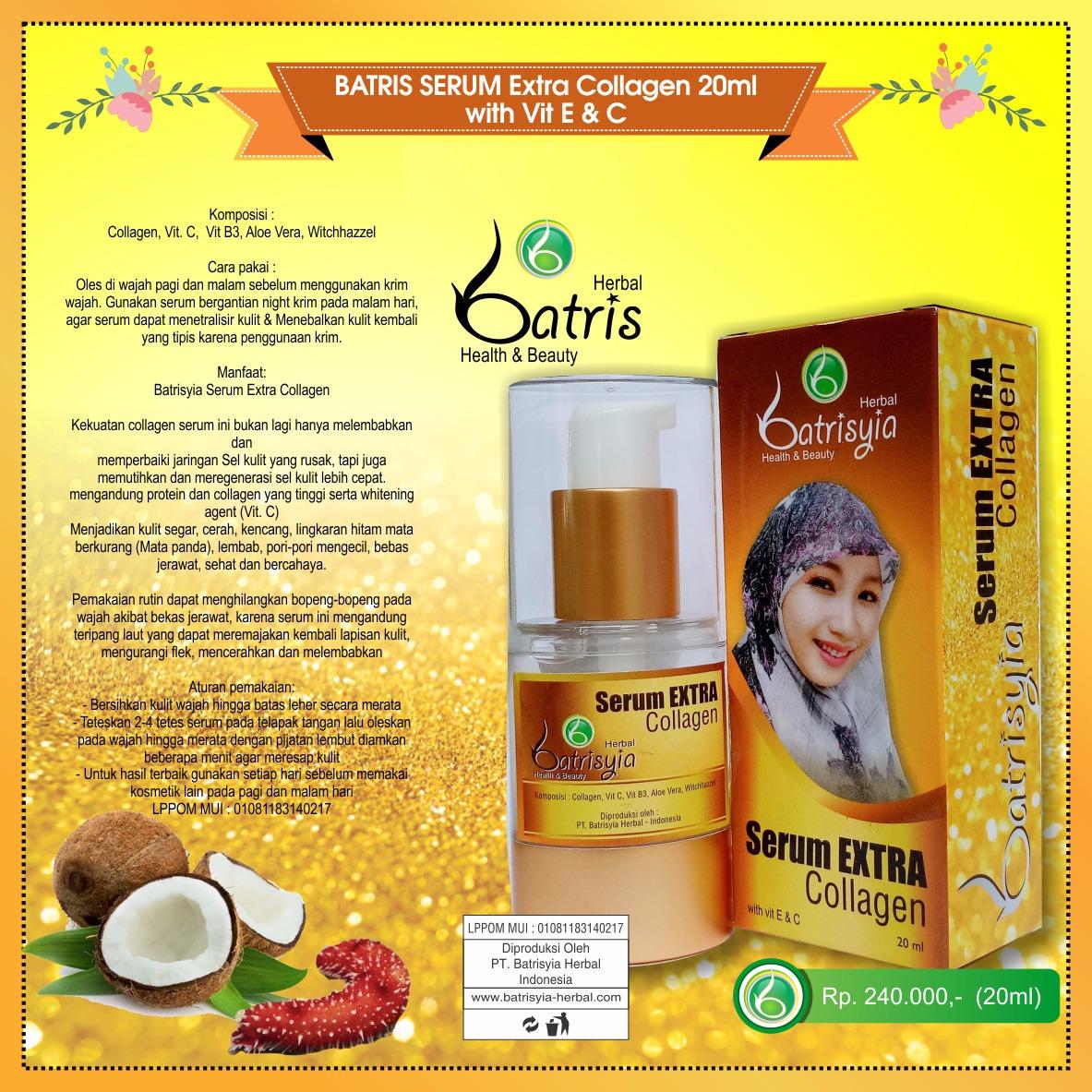 Batrisyia Serum Extra Collagen