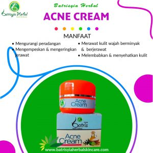acne cream batrisyia herbal skincare