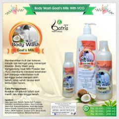 Body Wash Goat's Milk with VCO