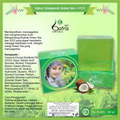 Sabun VCO Green Tea