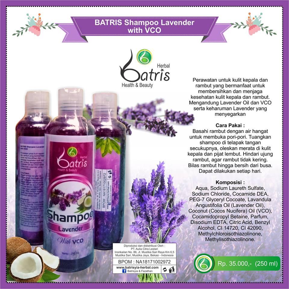 Batrisyia Shampoo Lavender with VCO
