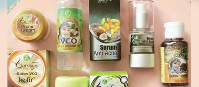 Paket Acne Exclusive Batrisyia Herbal Skincare