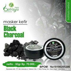 Masker Kefir Black Charcoal Batrisyia