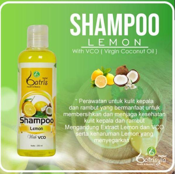 Shampo anti rontok dan bau apek