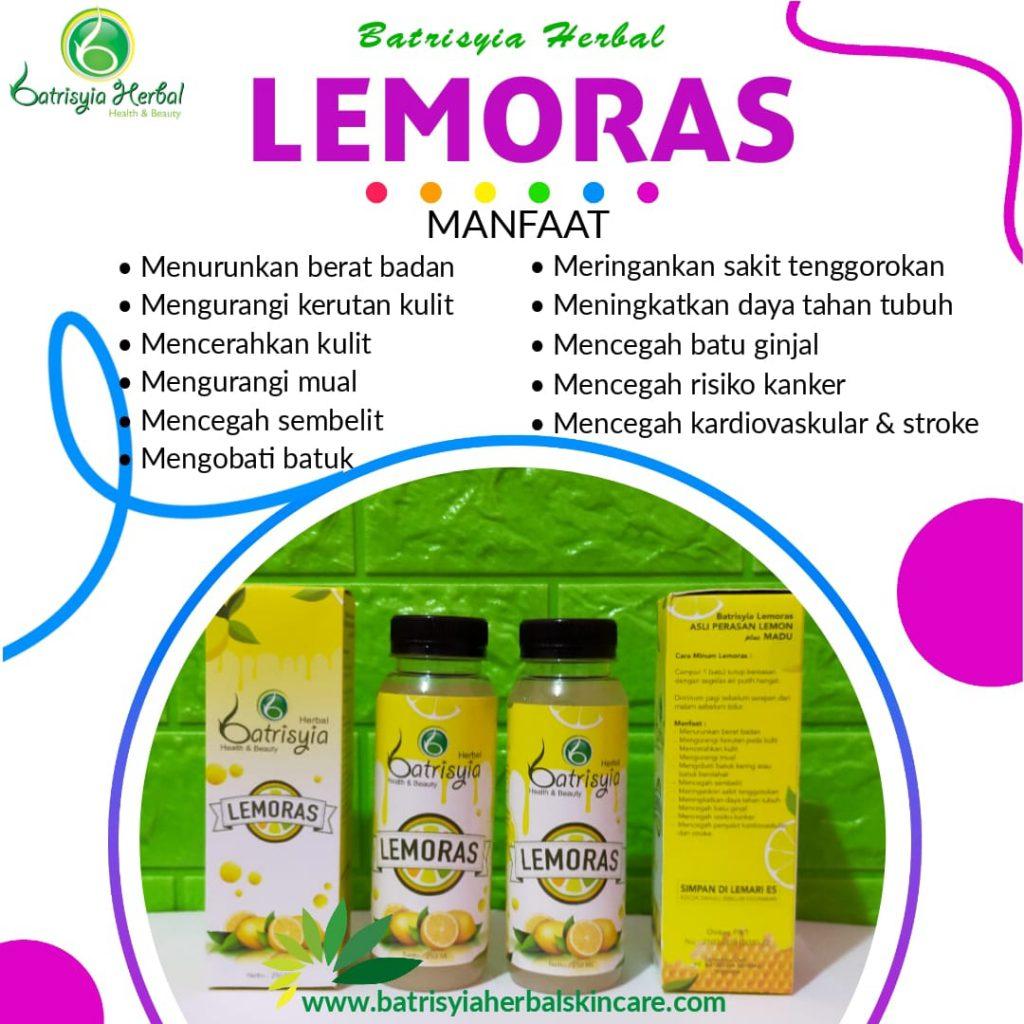 manfaat Lemoras sari lemon