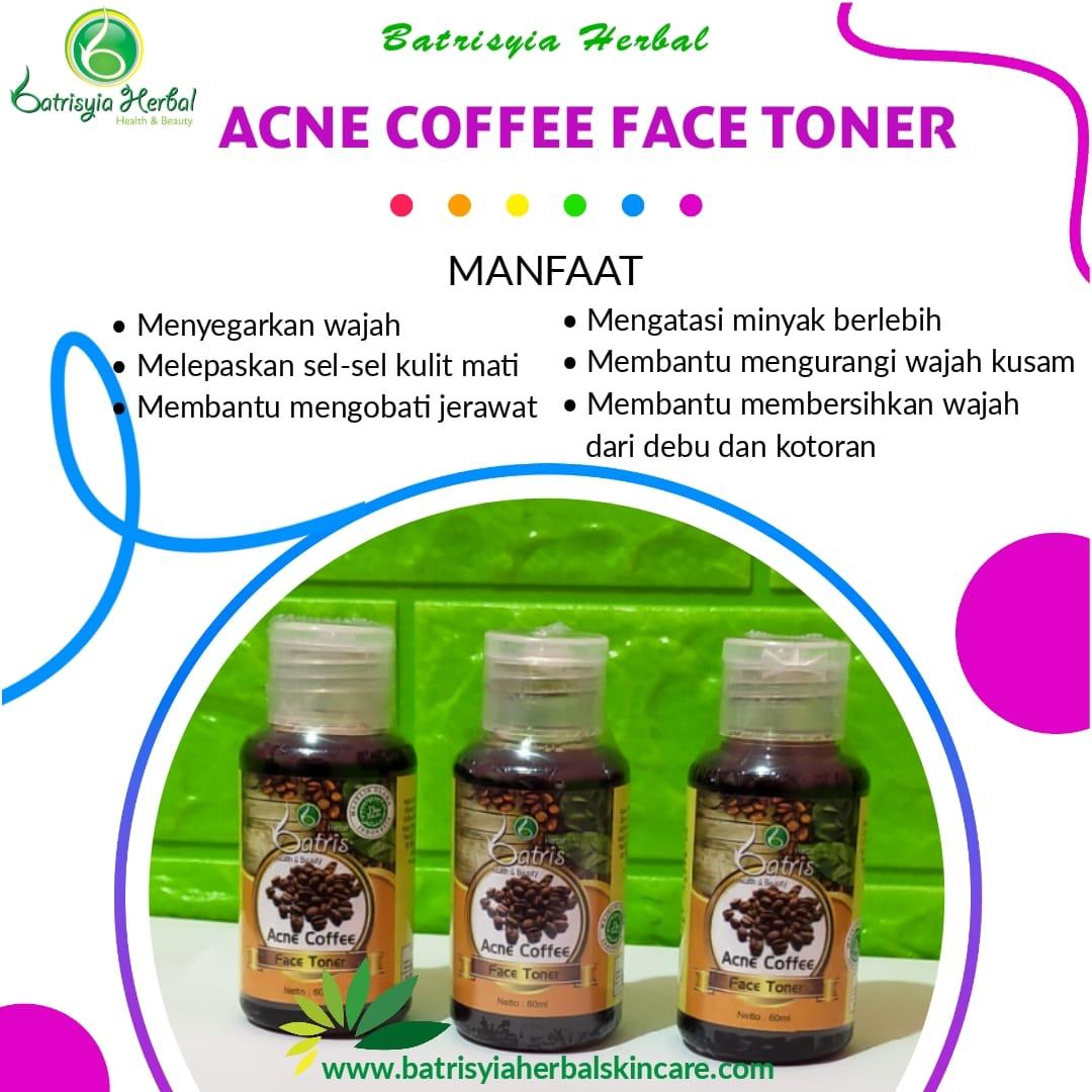 Acne Coffee Face Toner
