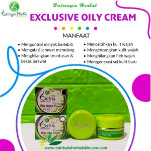 cream acne exclusive oily batrisyia herbal skincare