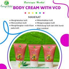 Body Cream Batrisyia Herbal