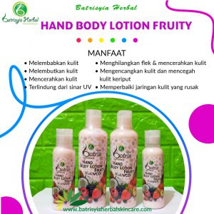 body lotion fruity batrisyia herbal skincare