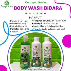 body wash bidara batrisyia herbal skincare