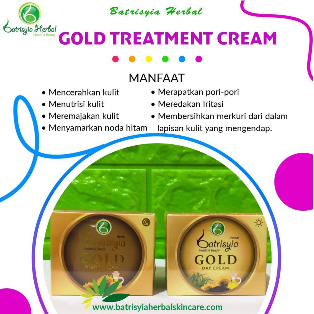 cream gold batrisyia herbal skincare