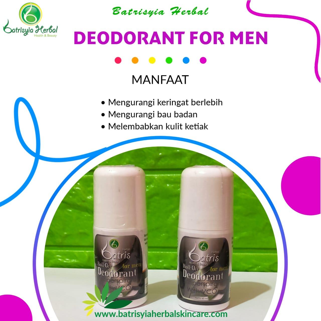 Roll-On Deodorant for Men Batrisyia