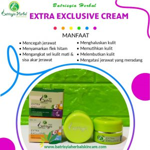 cream extra exclusive batrisyia herbal skincare