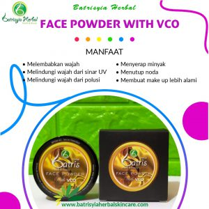 bedak tabur batrisyia face powder