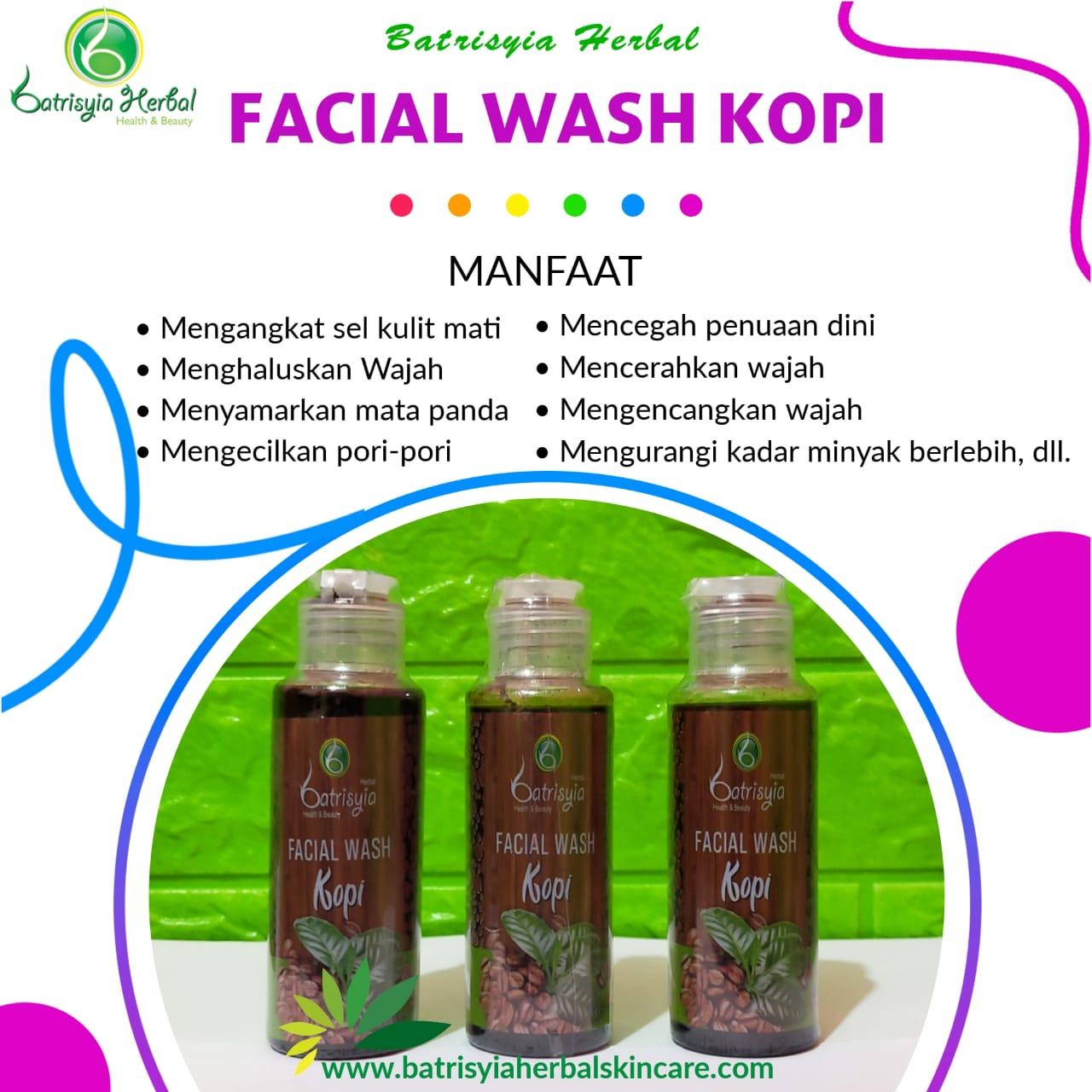 Facial Wash Kopi Batrisyia