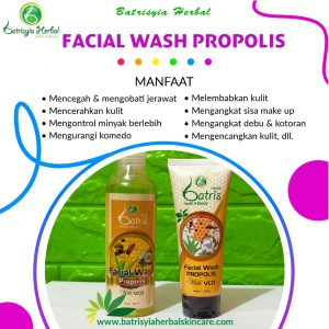 batrisyia facial wash propolis herbal skincare