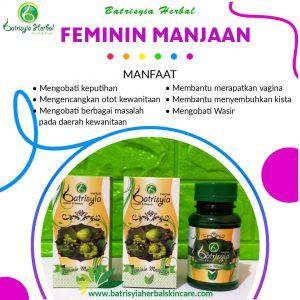 batrisyia feminin manjaan herbal skincare