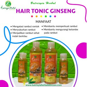 hair tonic ginseng batrisyia herbal skincare