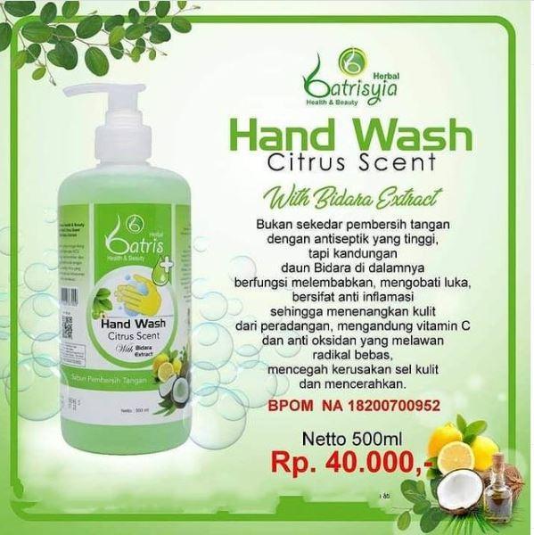 hand sanitazer alami dan aman untuk kulit