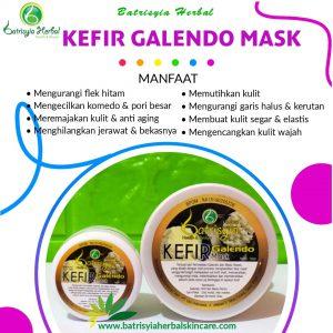 masker kefir galendo batrisyia herbal skincare