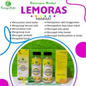 lemoras sari lemon batrisyia herbal skincare