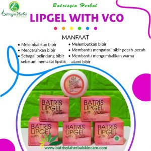lipgel with vco batrisyia herbal skincare