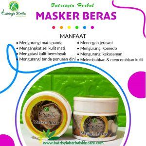 masker beras batrisyia herbal skincare