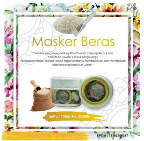 manfaat masker beras batrisyia herbal untuk kecantikan