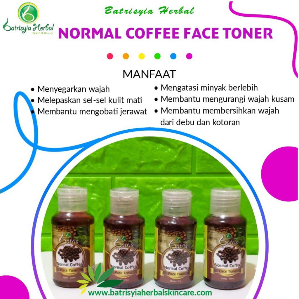 normal coffee face toner batrisyia herbal skincare