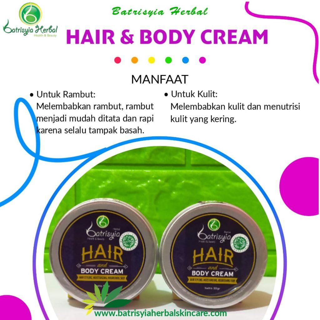 pomade hair and body cream batrisyia herbal skincare