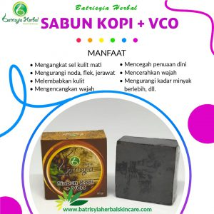 sabun kopi with vco batrisyia herbal skincare
