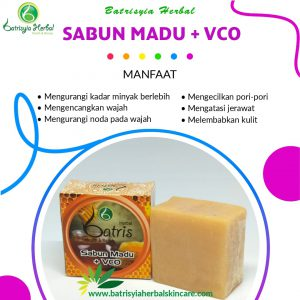 sabun madu with vco batrisyia herbal skincare