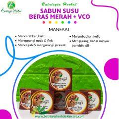 Sabun Susu Beras Merah with VCO