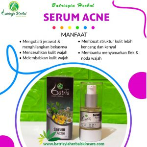 serum acne jerawat batrisyia herbal skincare