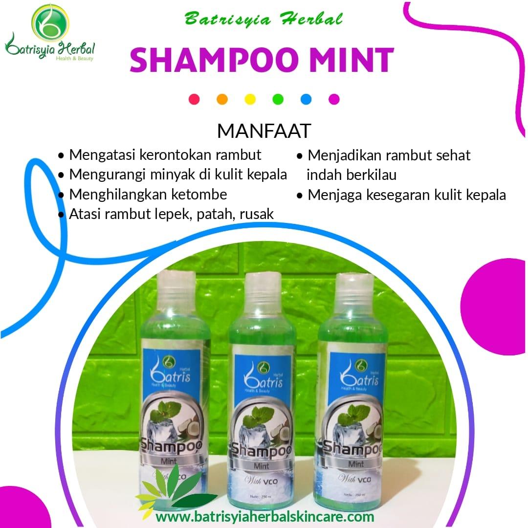 Batrisyia Shampoo Mint with VCO