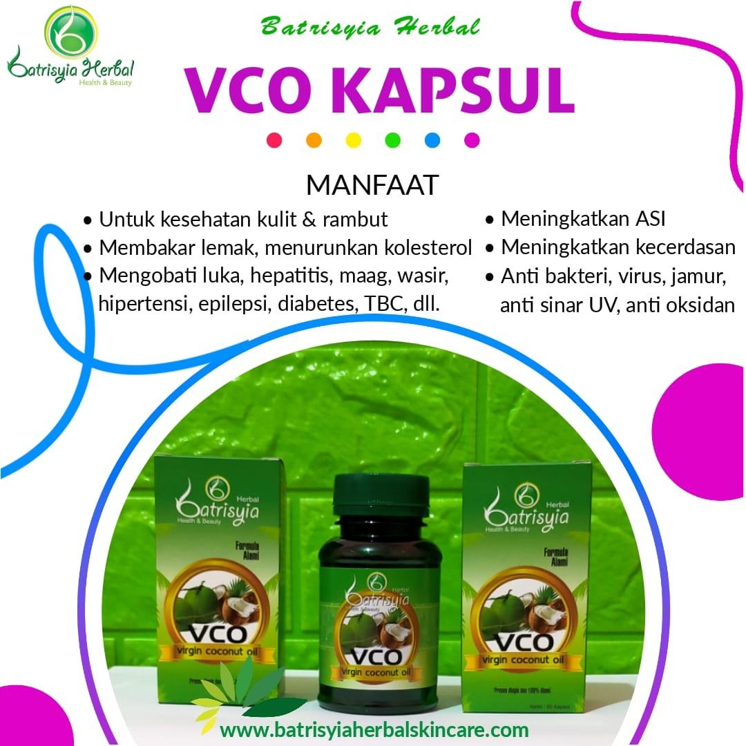 Virgin Coconut Oil – VCO Kapsul