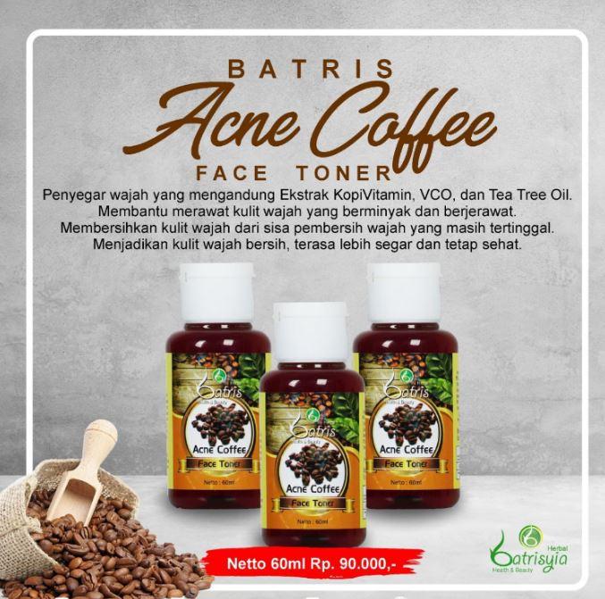 Acne Coffee Face Toner Batrisyia