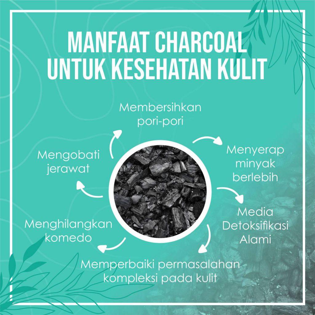 Khasiat charcoal untuk kulitmu