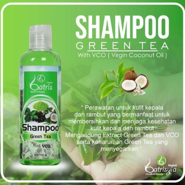 Manfaat Shampo green tea untuk rambut kering