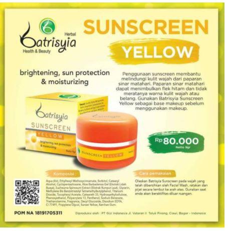 sunscreen anti UV alami