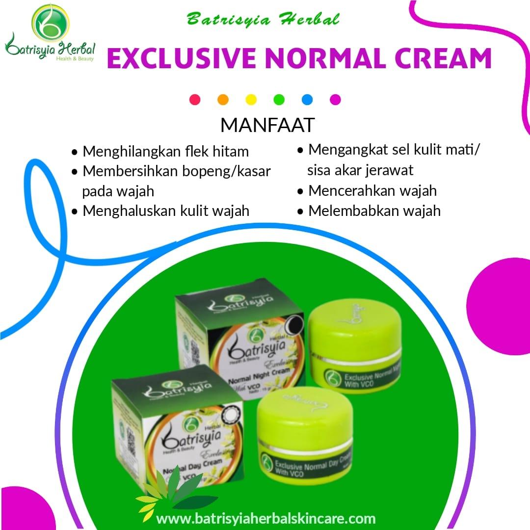 Batrisyia Exclusive Normal Day Night Cream