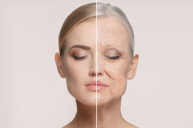 beberapa penyebab penuaan dini