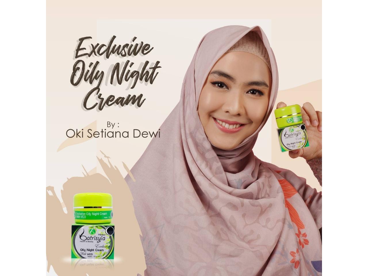 Cream malam untuk kulit berminyak