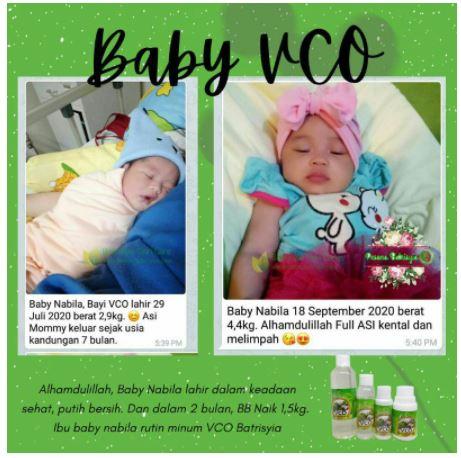 VCO untuk kesehatan bumil dan busui