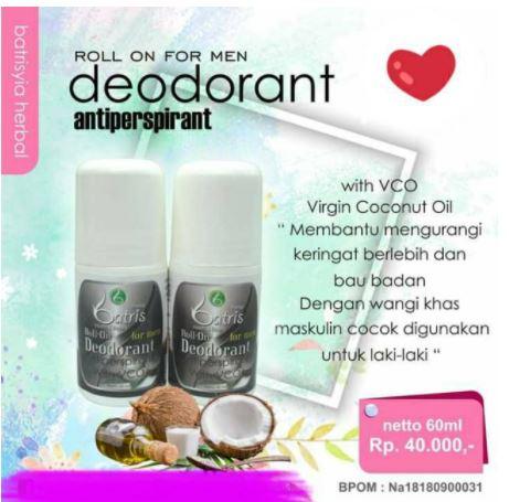 deodorant for men Batrisyia