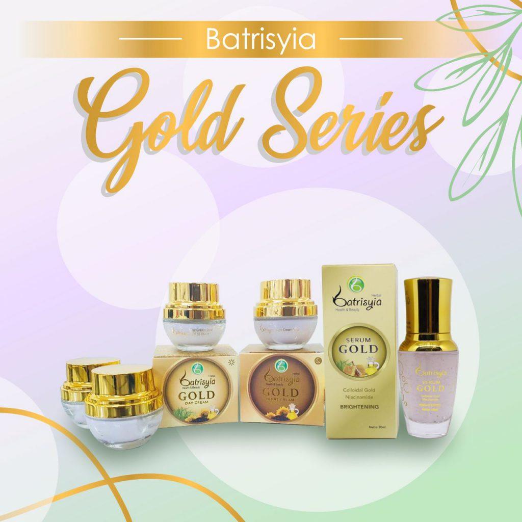 Batrisyia Gold Series untuk mencegah penuaan dini