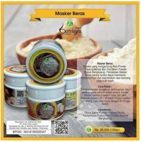 masker untuk semua jenis kulit dan atasi bruntusan